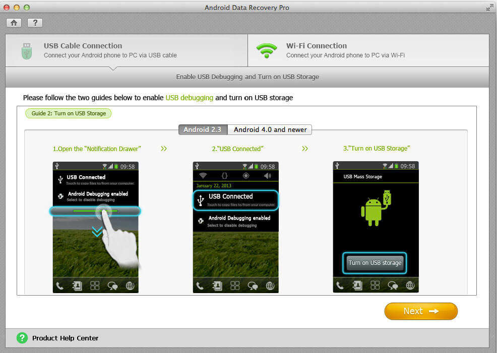 how to retrieve deleted files on android tablet