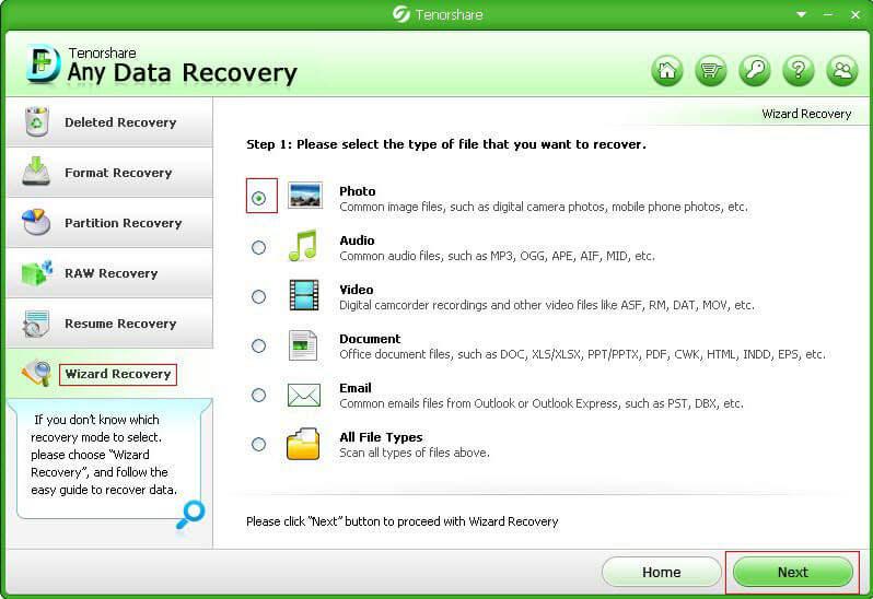 restauration des données