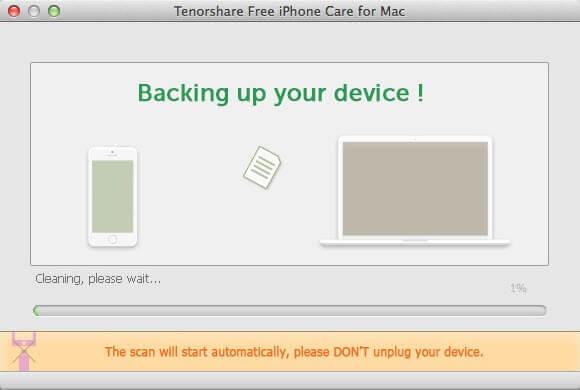 Mac用のtenorshare無料iphoneのケア