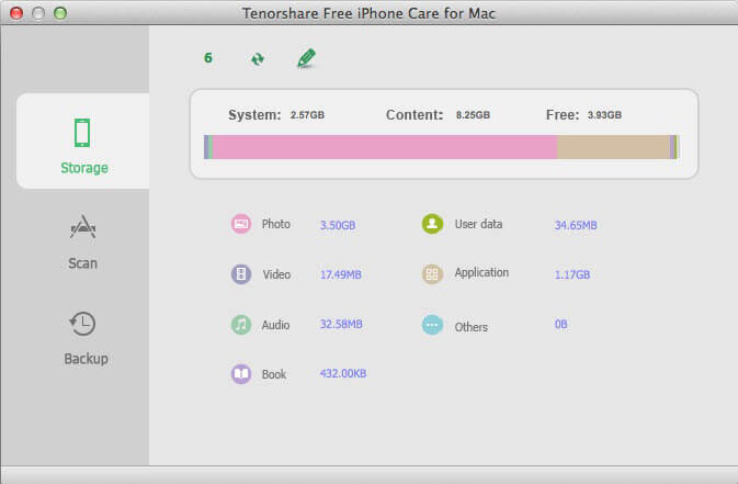 iphoneのMacをクリーンアップする方法