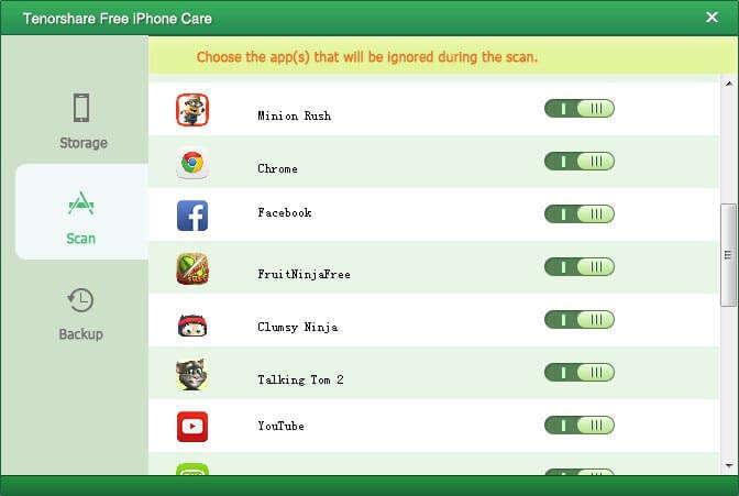iphoneのパフォーマンスを最適化