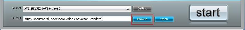 無料のビデオコンバータインターフェース