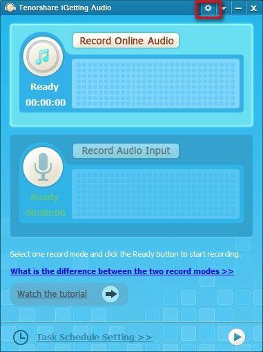 música en línea récord