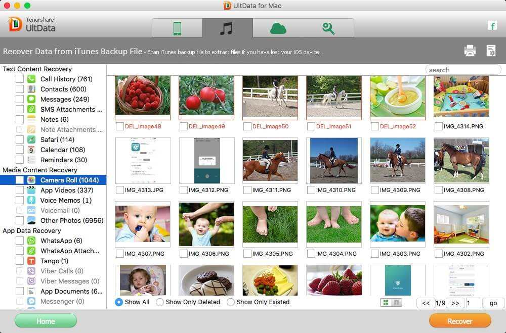 retrieve iphone 6 photos from itunes