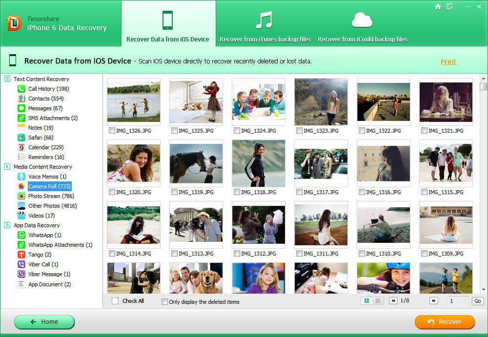 iphone 6 данные Руководство по восстановлению