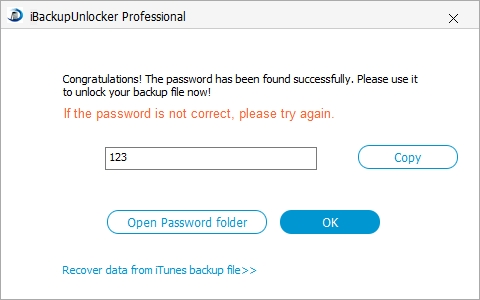 how to remove iphone backup password