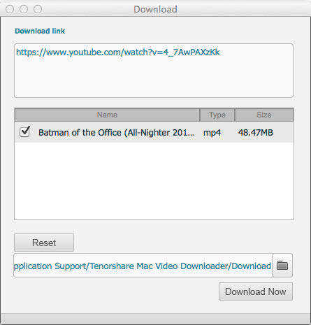 Video Downloader mac