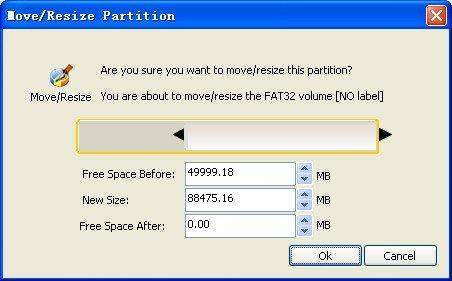manager partition ui