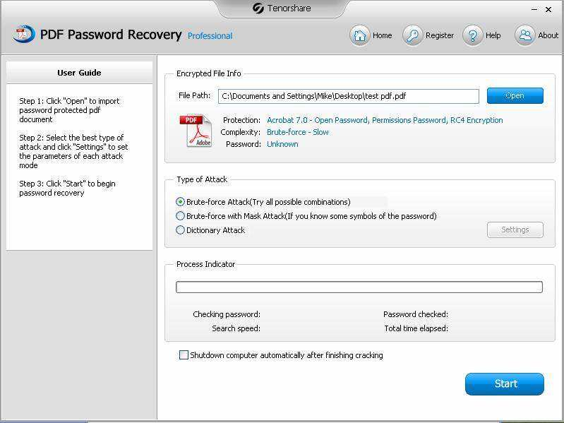 elcomsoft advanced pdf password recovery 5.0 professional free download