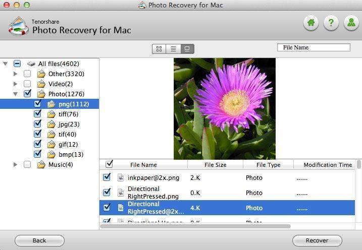 recover lost photos on mac