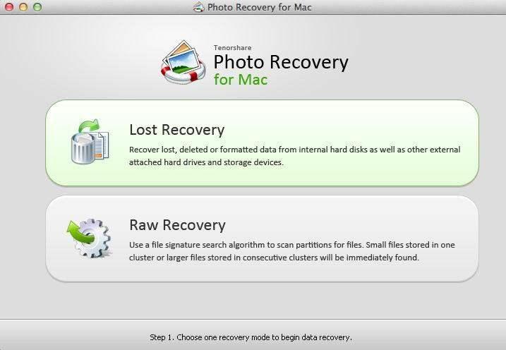 写真の回復マックスクリーンショット