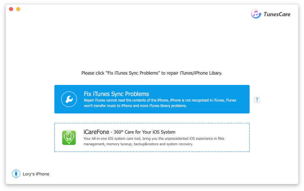 solution probleme synchro itunes
