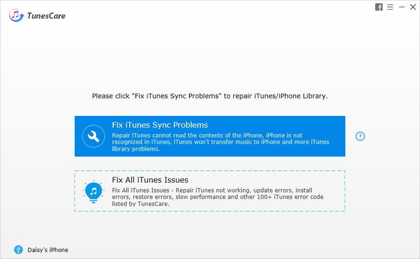repair itunes sync error