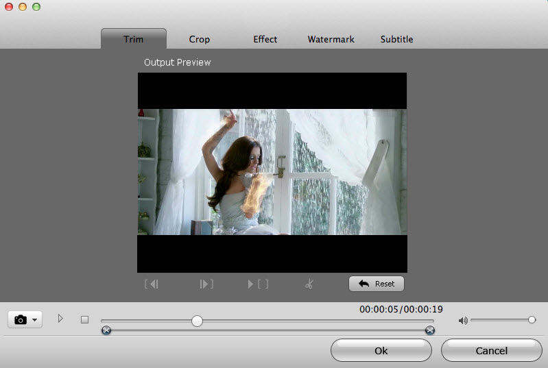 screenshots of mac video converter