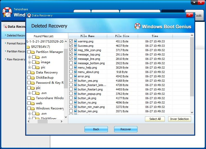 recover data 3
