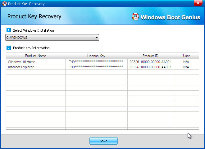 recover windows product key 2