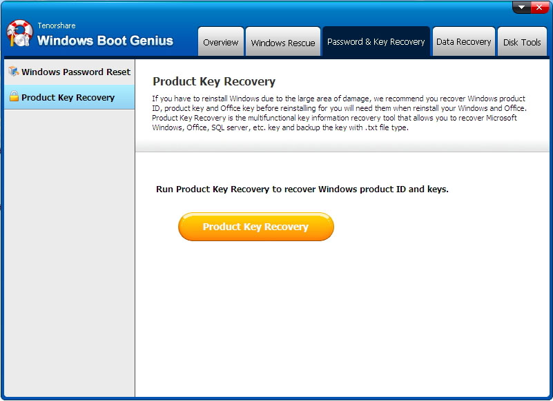 recover windows product key 1