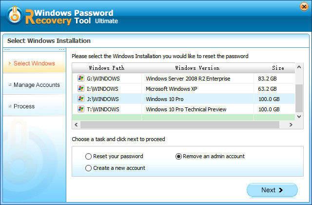 restablecer contraseña Windows 8