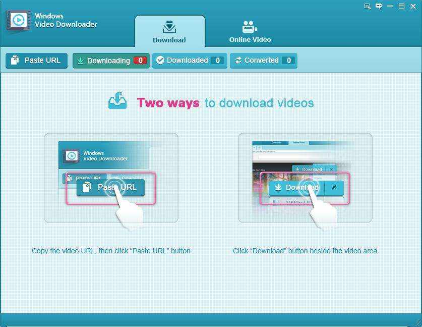 Tenorshare Video Downloader for Windows Screen shot