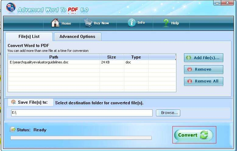 maintain pdf word document to hyperlinks
