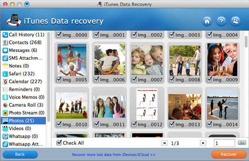Tenorshare iTunes Data Recovery for Mac