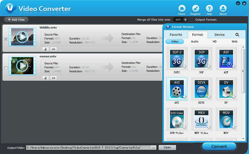 Windows 7 Tenorshare Video Converter 5.0.0.0 full