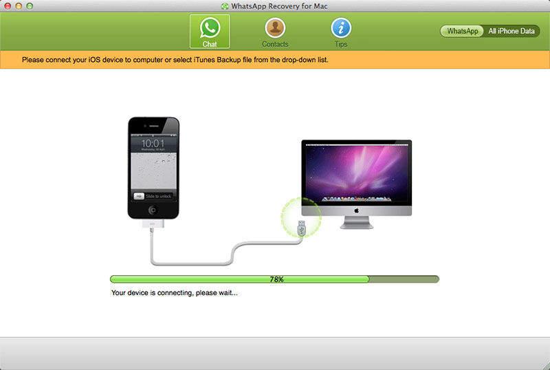 Tenorshare WhatsApp Recovery for Mac