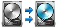 Copia de seguridad y restauración de disco duro