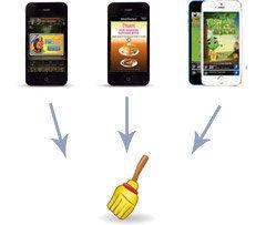 iOS annonces gratuitement Remover