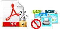 PDFのパスワードを回復