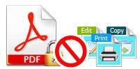 PDFパスワード除去