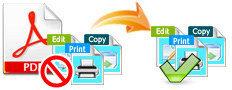 PDFの制限を削除