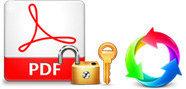 暗号化されたPDFファイルを変換する
