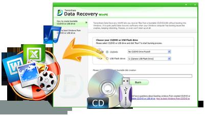 WinPE Tenorshare Récupération de données