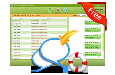 Tenorshare WhatsApp Recovery Free