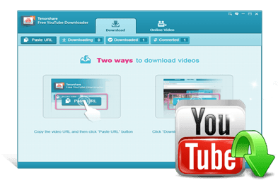 Free YouTube Downloader Tenorshare