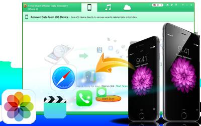 Tenorshare iPhone 6のデータ復旧