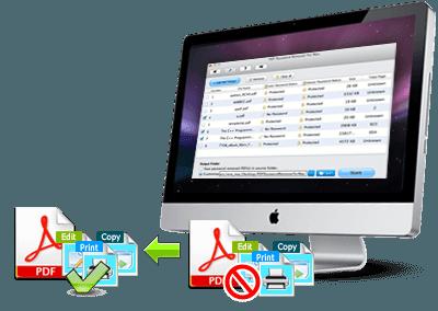 Mac用Tenorshare PDFパスワード除去