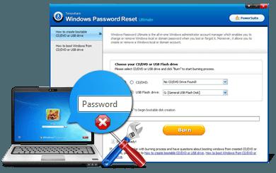 Tenorshare de Windows Password Reset