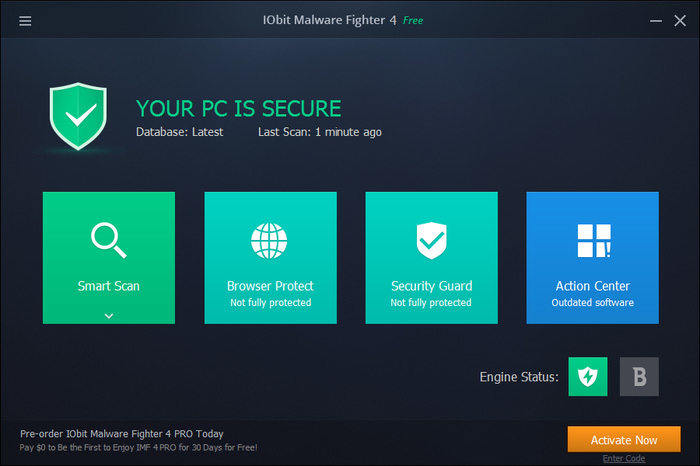 protect pc with iobit malware fighter