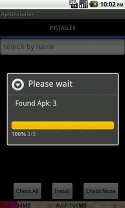 installing apk on android