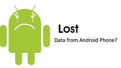 restore data from android phone