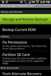 how to install a custom rom