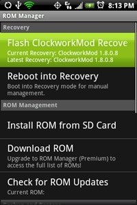 android flash rom