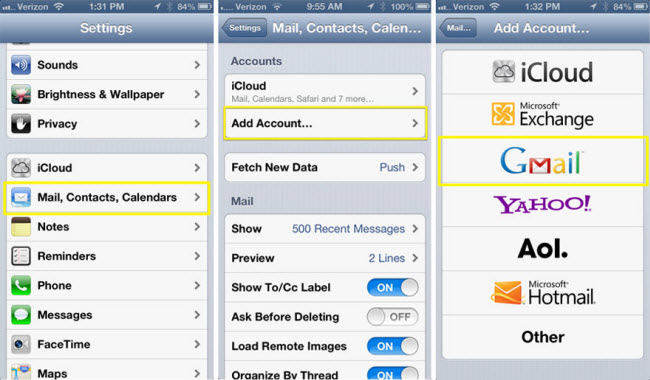 transfer file from android to iphone