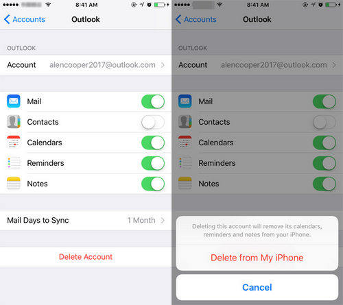 iphone remove email account top 3 ways to delete email cache on iphone 15373