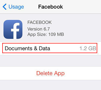 documents and data iphone storage 3 ways to delete documents and data on iphone 16867