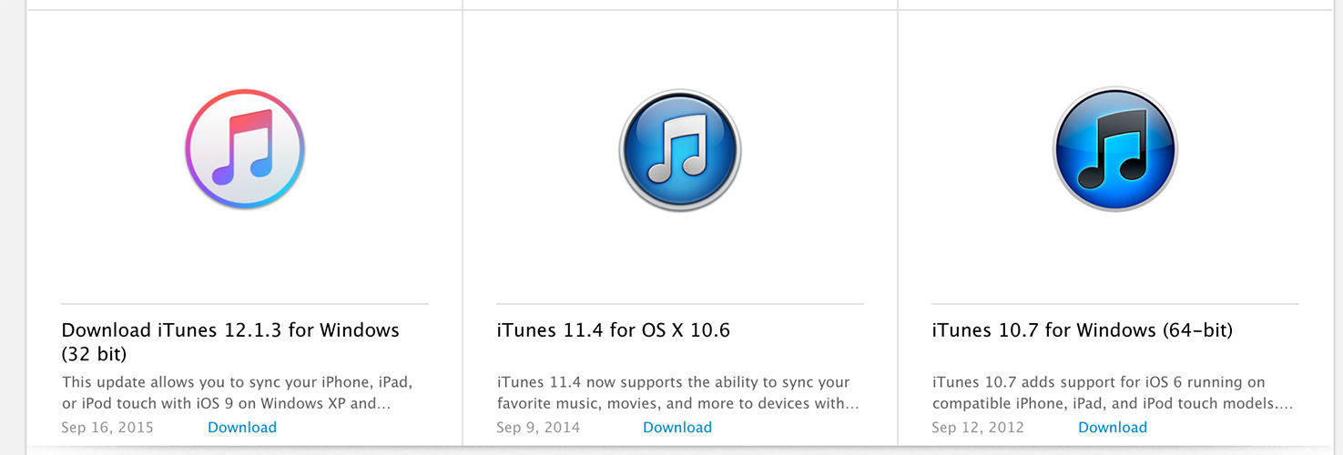download itunes version 11