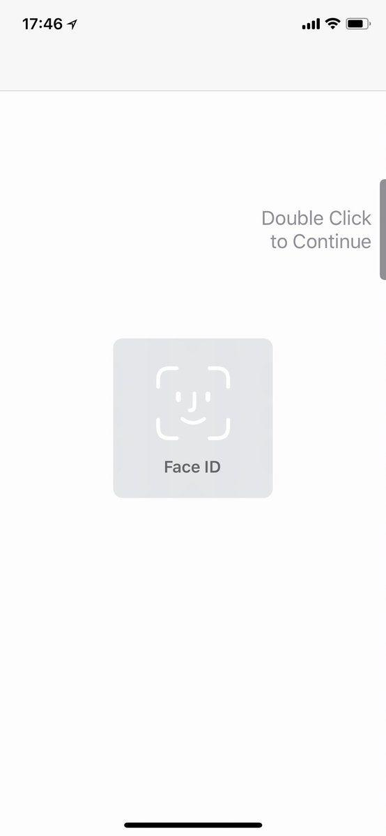 Face ID cannot set up