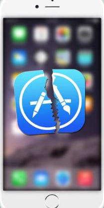 app abstürzen